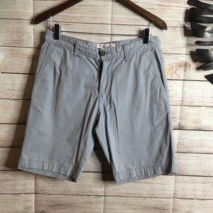 Original Penguin gray shorts size 30